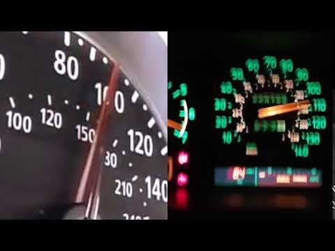 E60 M5 vs Saab 9000 Sleeper 100-200 km/h