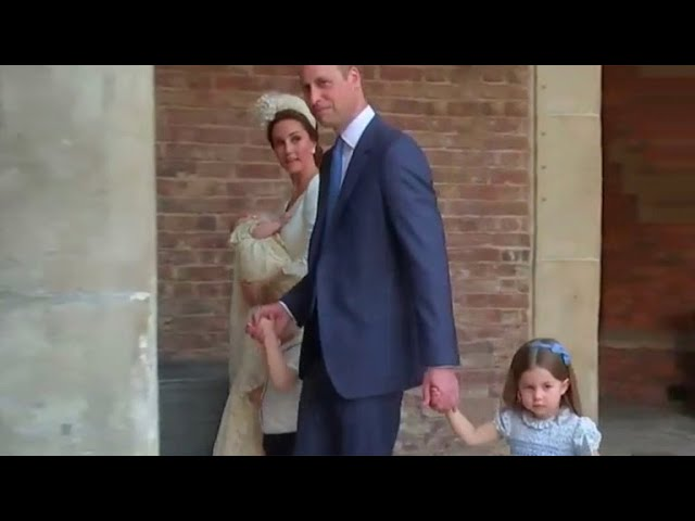 """Princess Charlotte to christening photographers: """"You're not coming"""""""