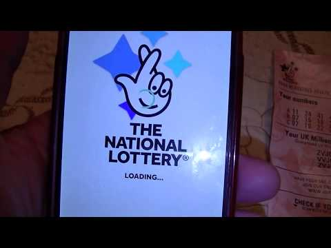 The National Lottery Mobile Application - Very Easy To Play & Check The Results From Home!
