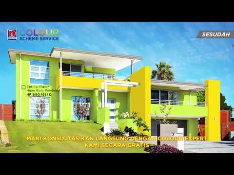 Kombinasi Warna Cat Hijau Bolu Pandan Untuk Rumah 2 Youtube