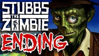 "Stubbs the Zombie in Rebel Without a Pulse ""Ending"" Xbox 360 Gameplay"