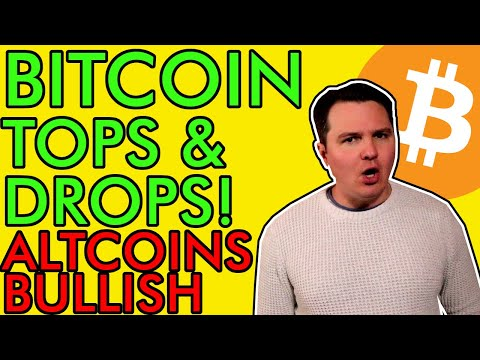 BITCOIN PRICE TOPS & DROPS! ETHEREUM 2.0 IS LIVE & TOP ALTCOIN NEWS [2021 Looks Bullish AF!]
