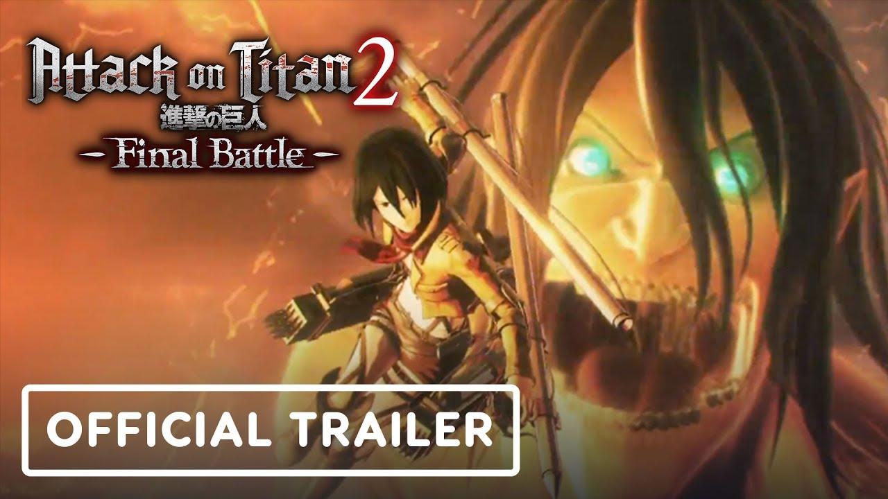 Angriff auf Titan 2: Final Battle - Offizieller Kinotrailer + video
