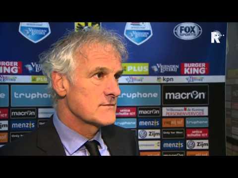 Fred Rutten na afloop van Vitesse - Feyenoord