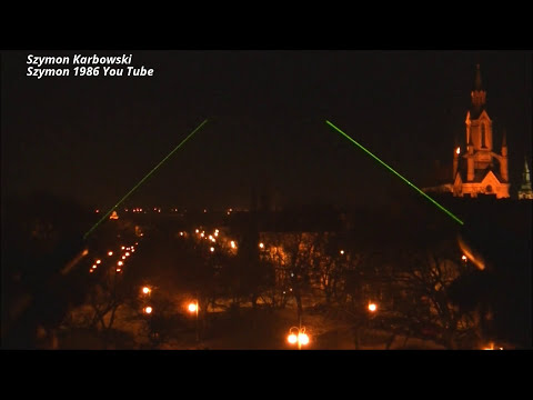 Green laser pointer - 5mW 30mW 50mW out door