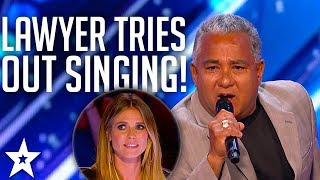 Lawyer Anthony Penoso Tries Out Singing on America's Got Talent 2017