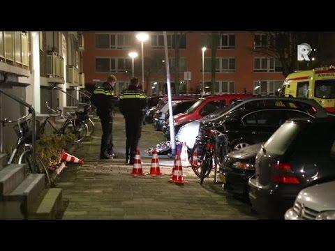 Dode bij schietpartij Rotterdam-Overschie (Media TV)