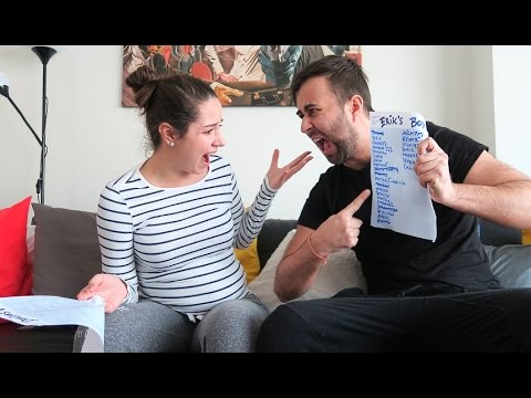 OUR BABY'S NAME - FINAL FIGHT!!