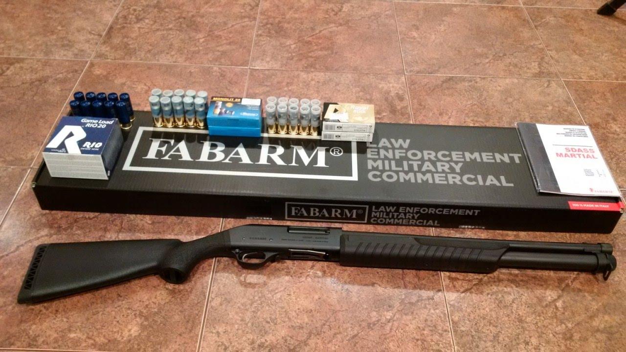 Обслуживание помпового ружья на примере Fabarm SDASS. - YouTube