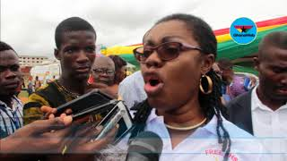 Critics of Free SHS will be shamed – Ursula Owusu Ekuful