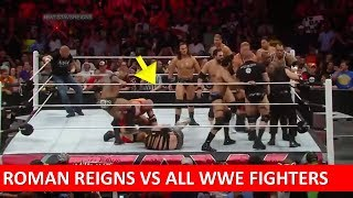 ROMAN REIGNS VS ALL WWE STAR BRUTAL FIGHT !! ( MUST WATCH )