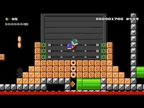 Super Mario Maker - Incredible Amazing Level - Punch-Out!! W password system v3 by Lucifer