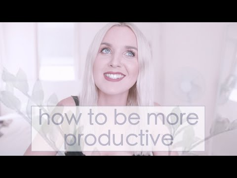 How to Start Being a Productive Human Being - 5 Tips