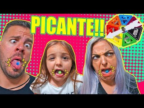 JUEGO de CARAMELOS PICANTES.... Itarte Vlogs