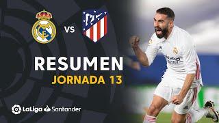 Resumen de Real Madrid vs Atlético de Madrid (2-0)