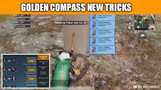 Top 10 Golden Compass Location In Erangle Map ! Golden Compass Secret Tricks Pubg Mobile