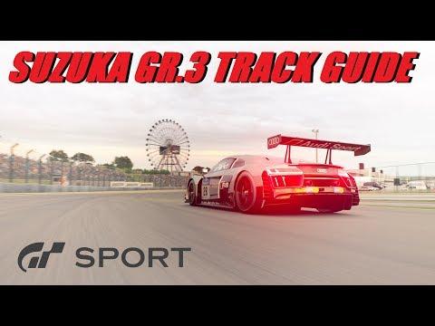 GT Sport Suzuka GR.3 Guide - Pedal + Wheel Camera