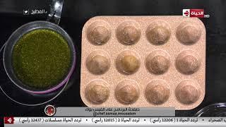 """المطبخ - طريقة عمل """" البسبوسة السادة """" على طريقة الشيف أسماء مسلم"""