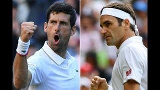 Novak Djokovic vs Roger Federer live streaming