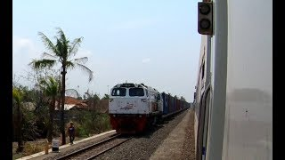Indonesian Railways : Pekalongan to Kebumen