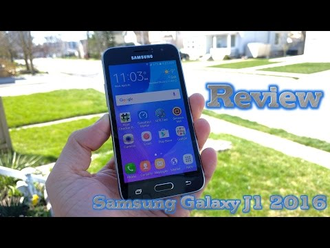 Samsung Galaxy J1 DUOS 2016 REVIEW