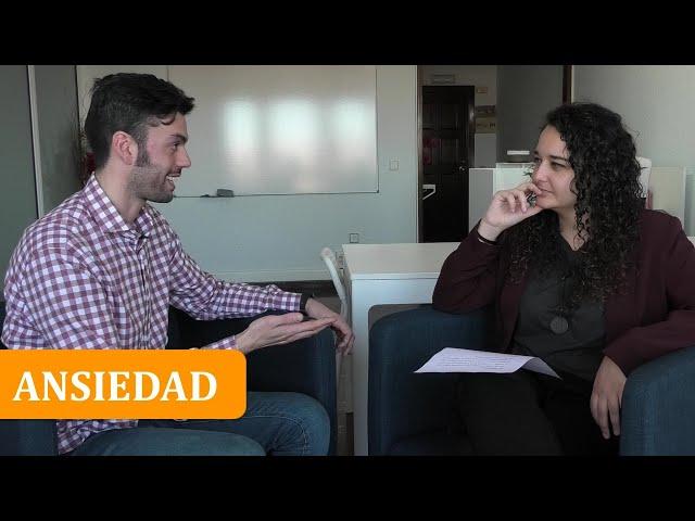 ANSIEDAD.  Entrevista con el psicólogo Carlos Galán