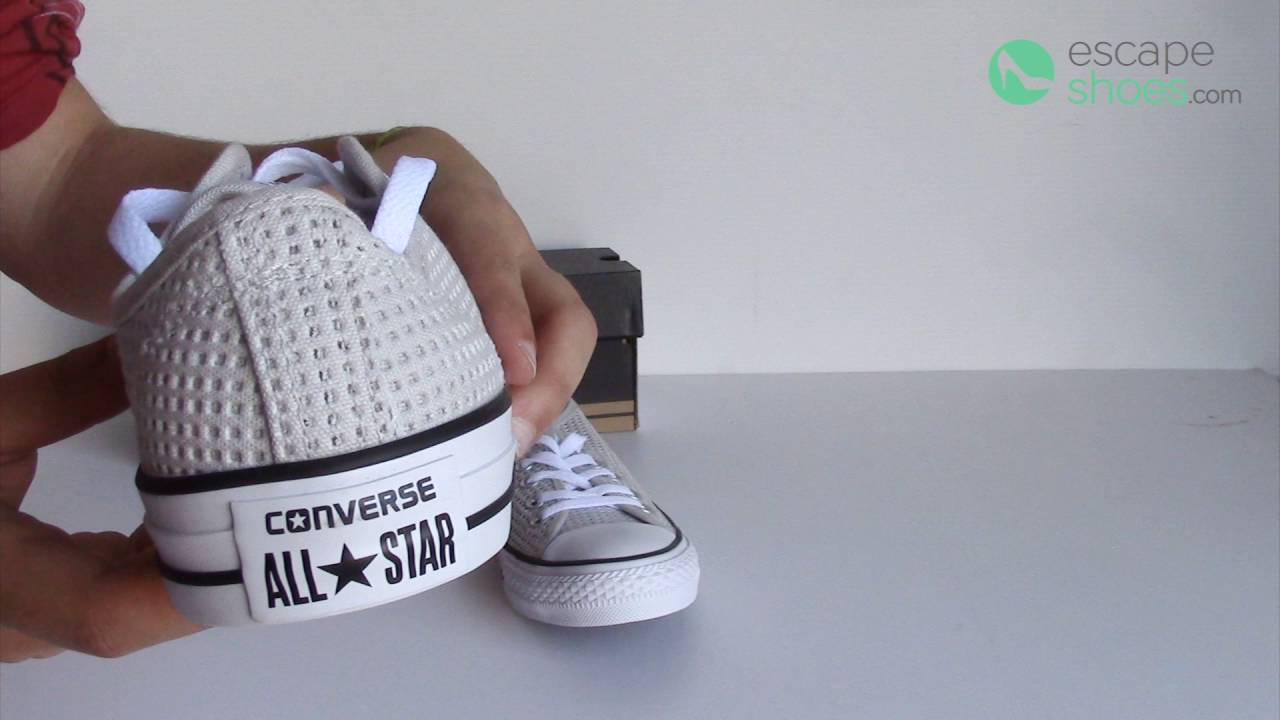 07d987881fe1 CONVERSE Chuck Taylor All Star 551624C Mouse White Black - YouTube