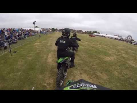 HMS Sultan Summer Show 2018 - Riders Eye View