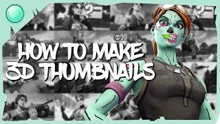 How To Make 3D Fortnite Thumbnails! (SFM Full Tutorial)