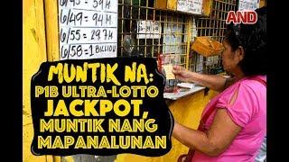MUNTIK NA! P1B ultra-lotto jackpot, muntik nang mapanalunan