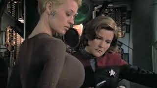 Jeri Ryan (Seven of Nine) Breast Expansion Morph in Star Trek …