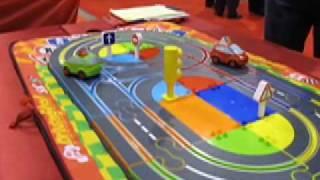 Hot Slots 132 Presents The SCX My First Driving School Slot Car Set.