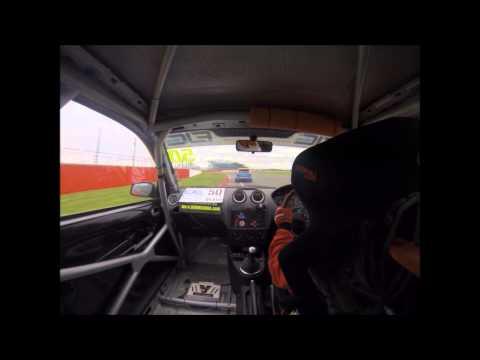 Geri Nicosia - Race 2 Fiesta Junior - Silverstone 6 April 2014