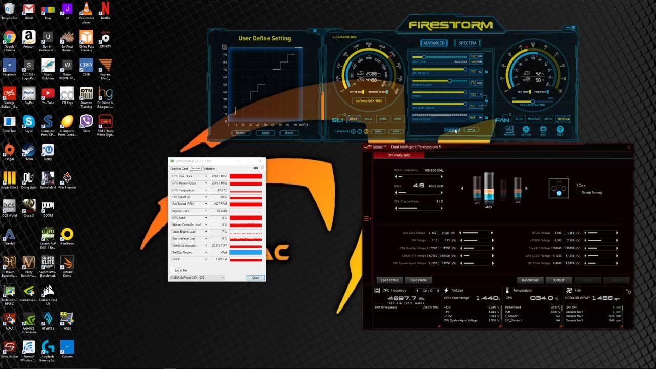 Zotac GTX 1070 Amp Extreme 2100 - 2088 mhz , 9000 mhz DDR 5 , I7 6700K ,  Overclocking Render Test - YouTube