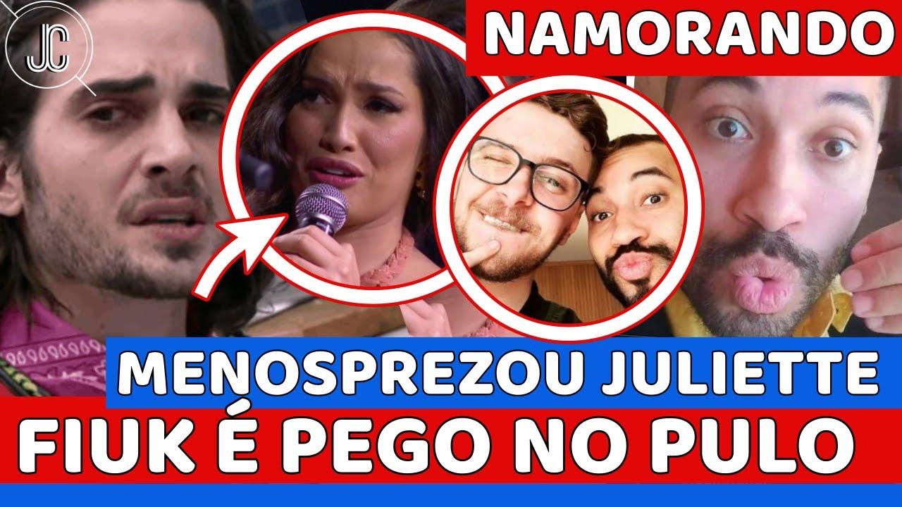 💣Fiuk FALA MAL de Juliette: VÍDEO APARECE e RENDE; Juliette É IGNORADA por Rodolffo; Gil NAMORANDO