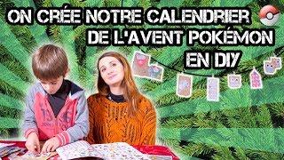 NOTRE CALENDRIER DE L'AVENT POKEMON DIY ! - Vidéo bonus Angie maman 2.0