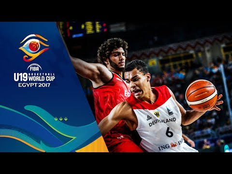 Germany v Egypt - Full Game - FIBA U19 Basketball World Cup 2017
