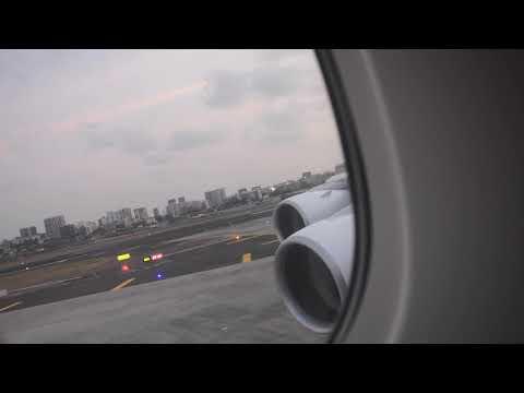 ETIHAD A380   Landing & Taxi at Mumbai   EY204   Abu Dhabi to Mumbai