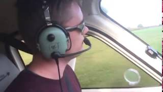 Tecnam P2008 landing