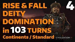 Video Civ 6: Rise&Fall - T103 Deity Domination - Mongolia - Part 4 download MP3, 3GP, MP4, WEBM, AVI, FLV Maret 2018