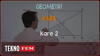 YGS-LYS GEOMETRİ - Kare 2