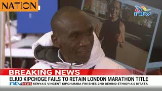 It was my ear, laments Kipchoge after London debacle