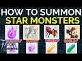 How to summon Star mobs to hunt Amethyst, Zircon, Topaz, in Ragnarok M