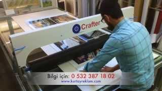 Crafter Folyo Sıvama Makinesi - Crafter Vinyl Application Machine
