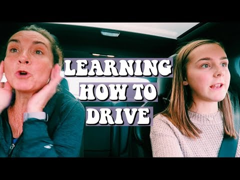 LEARNING HOW TO DRIVE FOR THE FIRST TIME *intense* | Lauren Evelyn