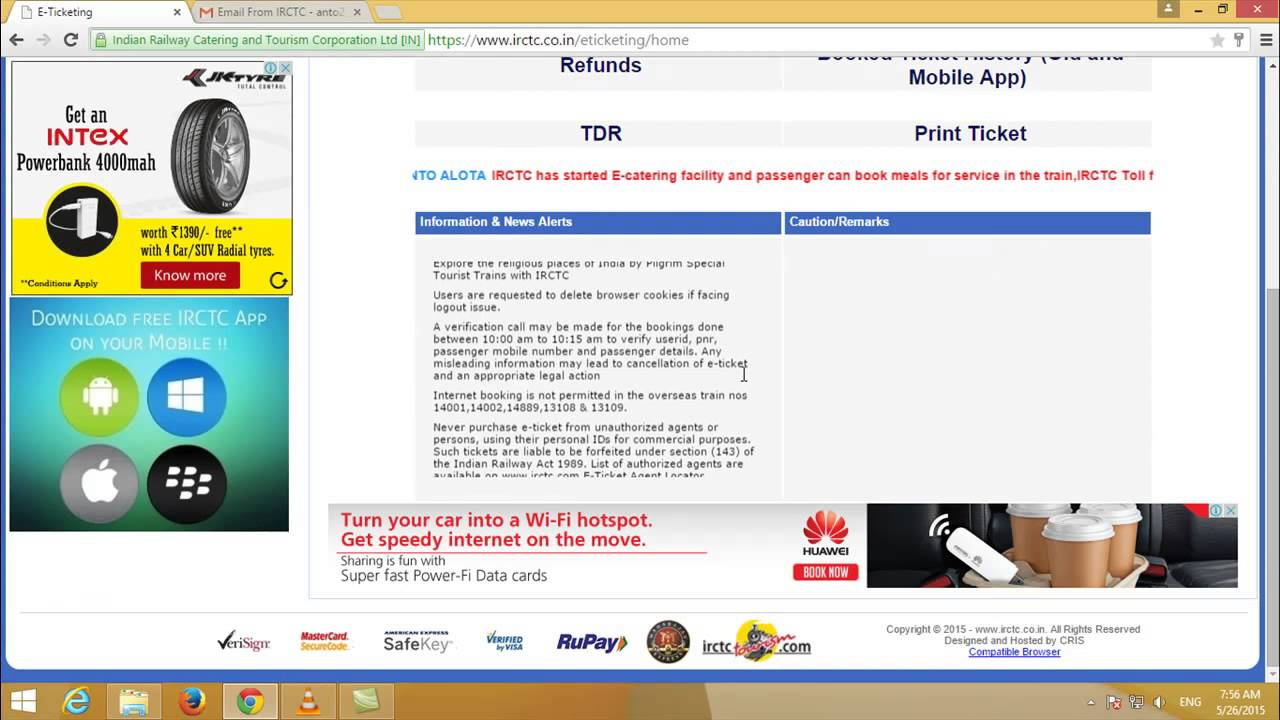 How Do You Book Train Ticket Online In Tamil Youtube