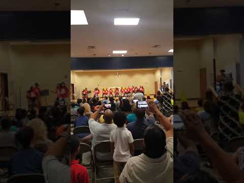 """D-Unity performing @ Petree Elementary School for """"Showtime @ Petree!!"""""""