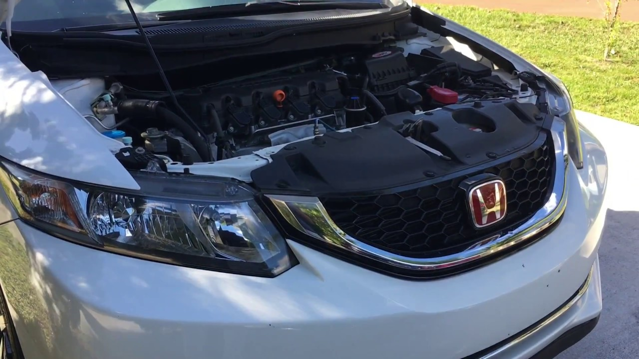 2006-2015 honda civic engine coolant temp sensor replacement (ect 1 & 2)