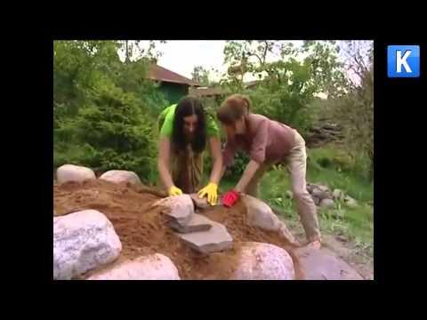 Создаём альпийскую горку своими руками