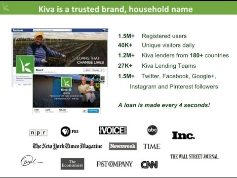 Kiva: Zero Interest Capital for Agricultural Innovation